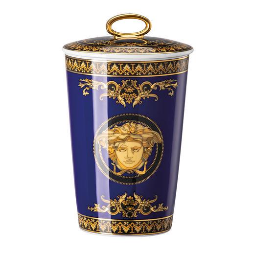 Bougie parfumée Versace, 600 g Un objet somptueux aux origines luxueuses. En  porcelaine Rosenthal raffinée.
