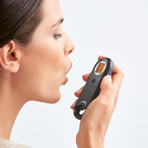 Testeur d'haleine Votre haleine est-elle fraîche ? Vous le saurez en quelques secondes !