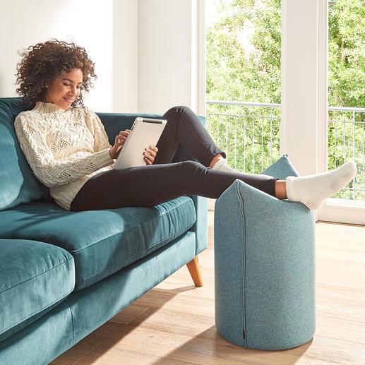 Également idéal pour y placer les jambes lors de vos instants de détente, pour regarder la télévision ou lire en toute quiétude.