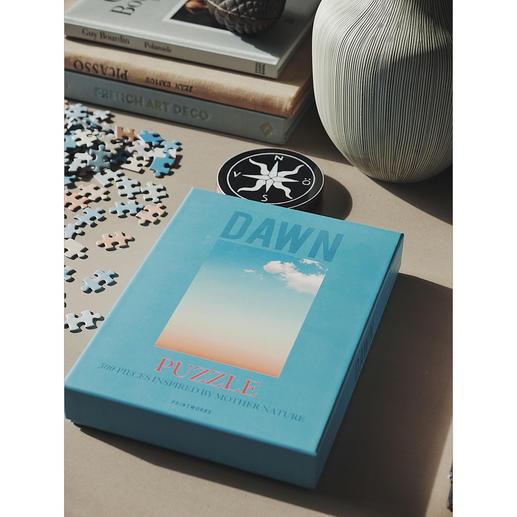 Puzzle Sky Series Motifs photo artistiques illustrant le jour et la nuit. Un défi stimulant composé de 500 pièces.