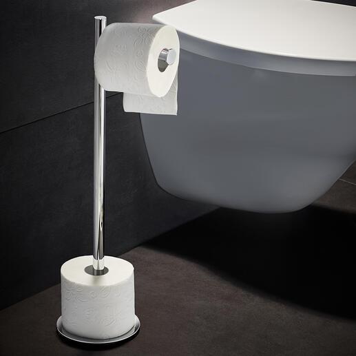 Serviteur WC Un objet stylé, toujours à portée de main. De Decor Walther, fournisseur d'accessoires de salles de bain haut de gamme.