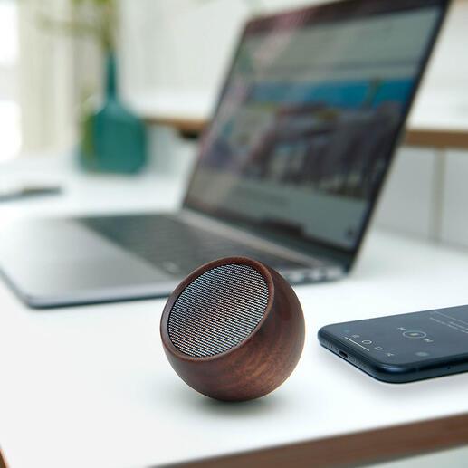 Mini haut-parleur design Le haut-parleur nomade. Un volume sonore étonnamment riche au format de poche, sans fil.