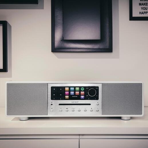 Le système sonoro MEISTERSTÜCK délivre un son impressionnant, volumineux et parfaitement équilibré.