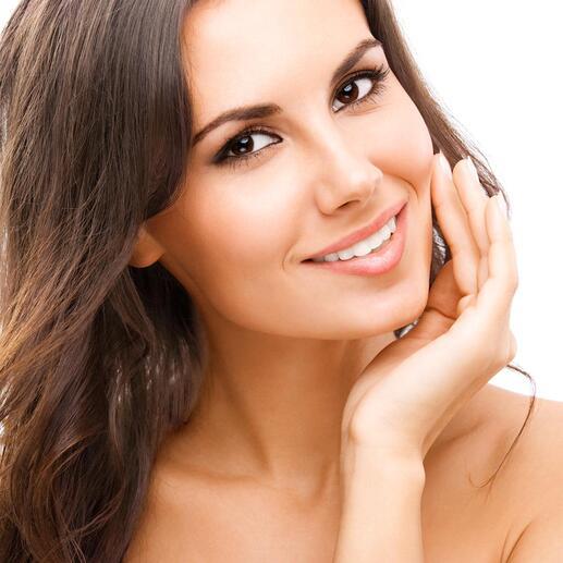 Un azurant optique fait paraître vos dents plus blanches en un clin d'œil.