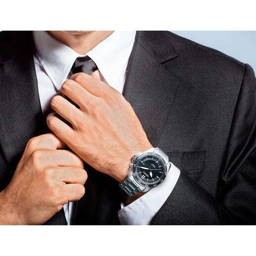 Montre Seiko Kinetic Fonctionne jusqu'à 100 fois plus longtemps que les montres automatiques classiques. Pour hommes et femmes.