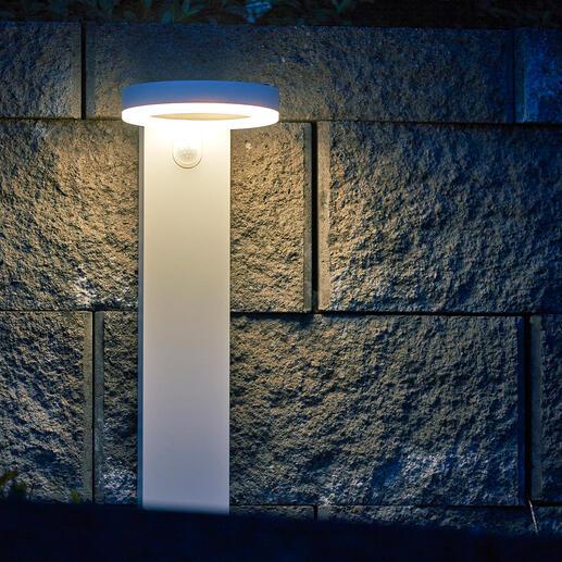 Vous choisissez le type de luminosité désiré en appuyant simplement sur un bouton.