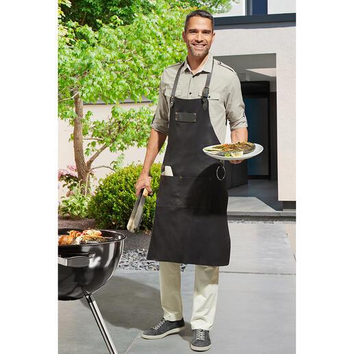 Le cuir de nappa souple est étanche et résistant aux taches et aux salissures.