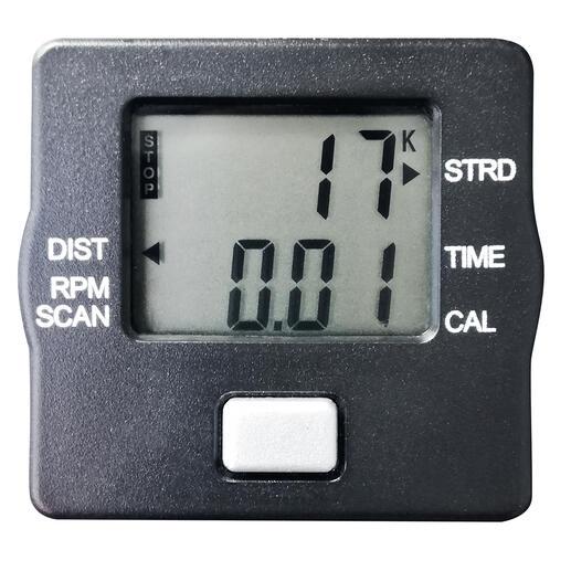 La consommation d'énergie, le temps, la distance, le nombre de pas et de tours sont faciles à lire sur l'écran LCD.
