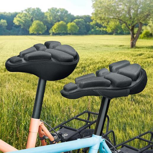 Housse de selle SoftAirSeat Bike Finis les douleurs au fessier quand vous faîtes du vélo.