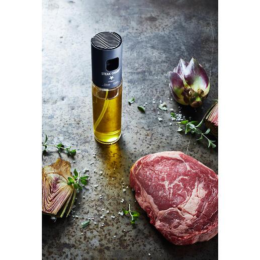 Vaporisateur d'huile à filtre intégré Le vaporisateur d'huile amélioré ne s'obstrue pas. Il est idéal pour les huiles et vinaigres aromatisés, les sauces d'assaisonnement, les sauces à salade.