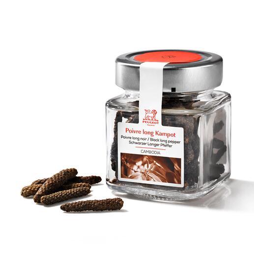 À ajouter à votre commande: le poivre noir aux longs grains en provenance du Cambodge*.