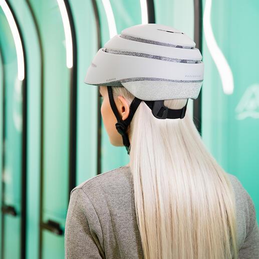 Casque de vélo réfléchissant Closca™LoopReflective Le casque de vélo amélioré : aérodynamique, sûr, pliable.
