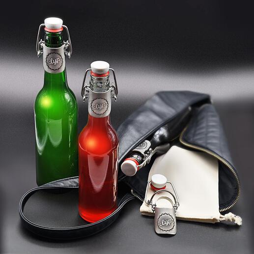 BouchonClyp Aussi étanche qu'avec une capsule d'origine : le bouchon Clyp. Idéal en déplacement ou en voyage et une solution durable pour les boissons à emporter.