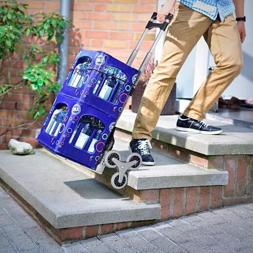 Diable pour escalier repliable Pour venir à bout des marches et des obstacles comme si de rien n'était. Repliable pour un gain de place.