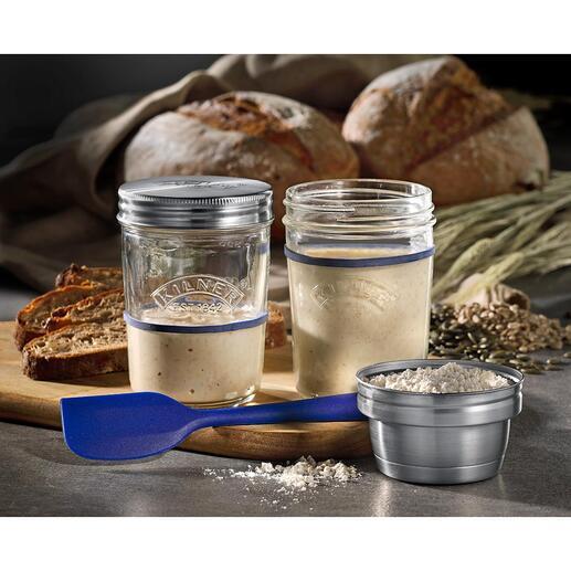 Appareil à levain Kilner® La tendance culinaire du levain : facilement préparé soi-même et parfaitement fermenté. Par Kilner®, Angleterre – spécialiste des articles en verre depuis 1842.