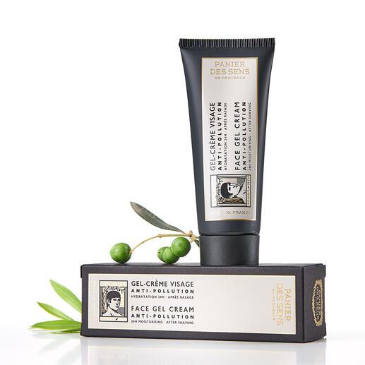 Sachet cadeau ou Soin du visage, 75 ml L'Olivier L'Olivier : la première ligne de parfum et de soins pour hommes par Panier des Sens – LE label français des cosmétiques naturels.
