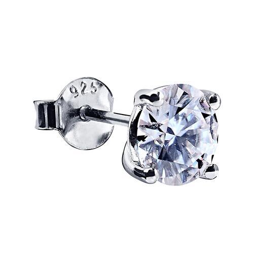 Boucles d'oreille Moissanite ou Pendentif Moissanite avec chaîne assortie Étincelants comme de précieux diamants. Complètement durables et éthiquement déchargés. La synthèse parfaite du laboratoire et de la nature.
