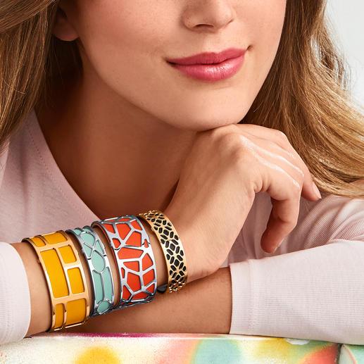 Bracelet Les Georgettes S'adapte parfaitement avec chacune de vos tenues : les bracelets d'Altesse, France.
