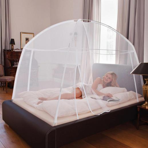 Moustiquaire mobile Un système d'assemblage extrêmement simple assure une protection optimale contre les insectes qui piquent.