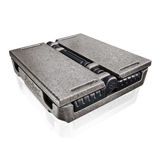Replié en un clin d'œil après utilisation, ce poids plume résistant se fait tout petit dans le coffre de votre voiture ou votre débarras.