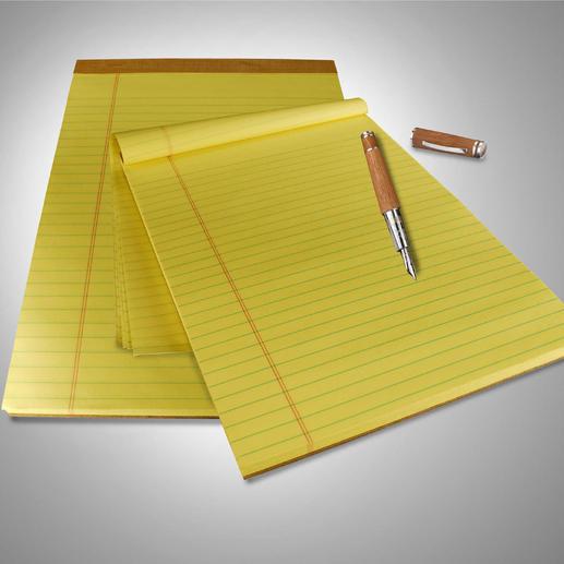 Original U.S. Legal Pads, 9 blocs de 100 feuilles Au moins 4 bonnes raisons d'utiliser ces blocs-notes.