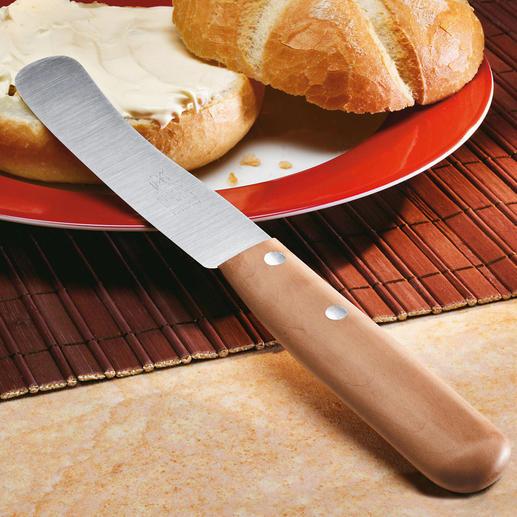 """Le couteau à tartiner """"Buckelsklinge"""" Parfait depuis plus de 130 ans. En acier inoxydable. Fabriqué entièrement à la main."""