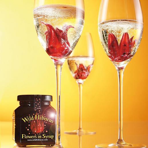 « Fleur d'hibiscus sauvage » dans leur sirop, lot de 2 Etonnez vos convives avec le cocktail le plus en vue des bars branchés.