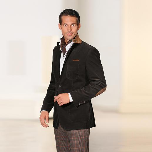 Veston en velours fin de Pontoglio Un classique durable et polyvalent. Plus robuste, plus raffiné, de couleur plus brillante.