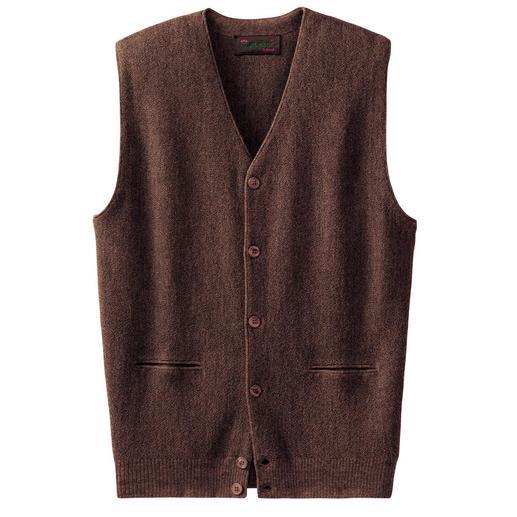 Le gilet en alpaga Un superbe modèle en tricot d'art, de Clonakilty.