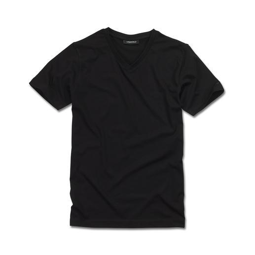 T-shirt basique Lagerfeld, lot de 2 Le T-shirt basique par excellence : épuré en noir et blanc, coupe élancée. Par Lagerfeld.