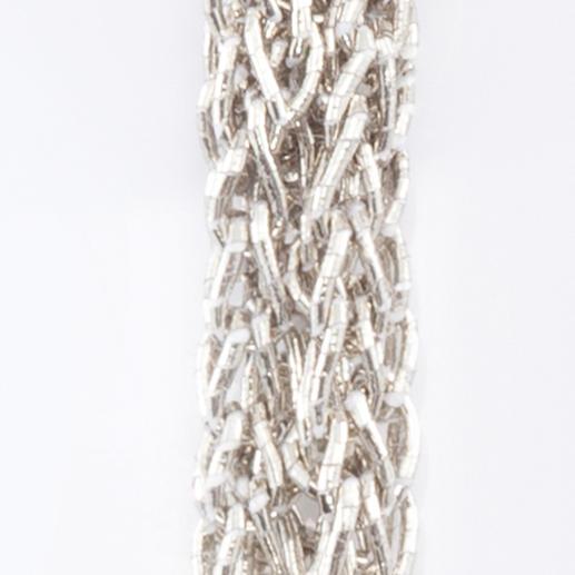 Collier en tricot XL Longueur XL et poids plume. En fil de papier japonais. Design signé Betty Gabrielle, Paris.