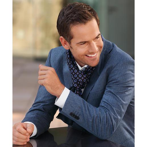 Veste en soie motif chevrons Di Pray La veste en pure soie. Ses tons discrets s'accordent parfaitement avec toutes les couleurs unies.