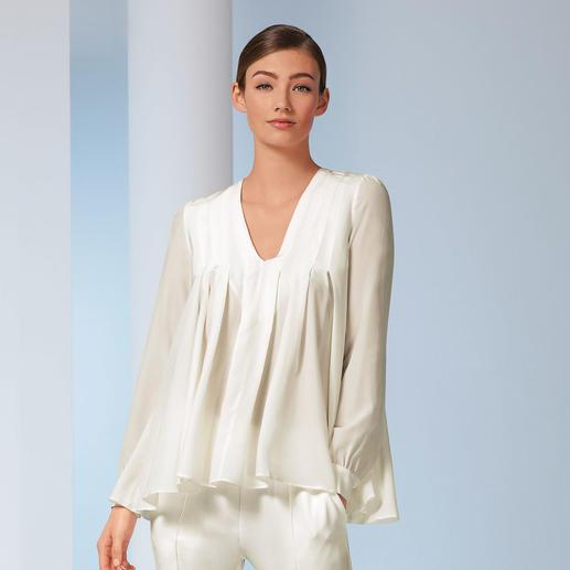 Tunique en soie extensible SLY010 La plus élégante et la plus intemporelle des tuniques. Par SLY010.