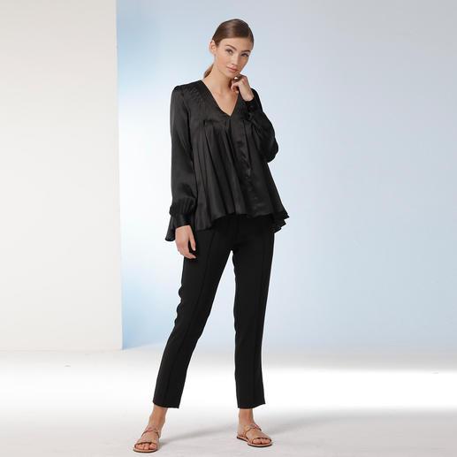 Tunique en soie extensible Sly 010 La plus élégante et la plus intemporelle des tuniques. Par Sly 010.