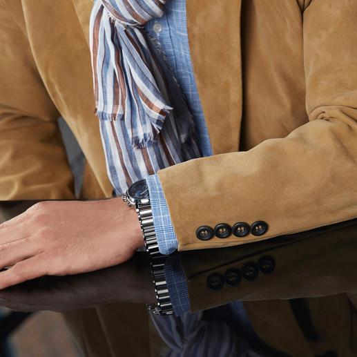 Veston en cuir de renne traité Cool Leather Un poids plume de 900 grammes d'une douceur incomparable et pourtant étonnamment robuste.