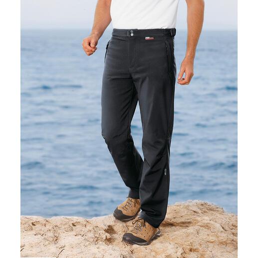 Pantalon softshell Filiforme, léger et bien chaud grâce à la qualité du softshell. Un modèle au plus bel effet ! Par CMP.