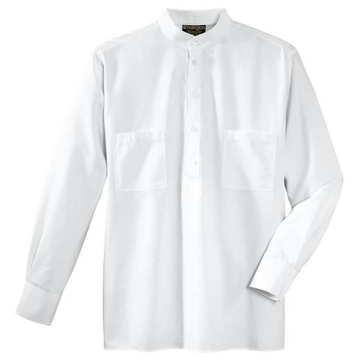 La chemise col officier Hollington originale. La chemise col officier Hollington originale.
