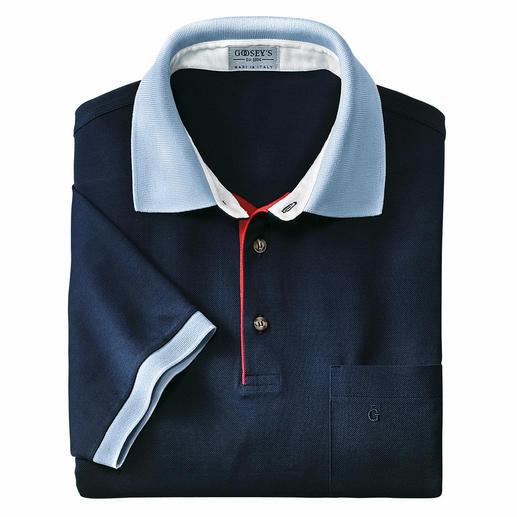 L'authentique polo Goosey– l'incontournable équipementier du golf depuis plus de 60ans. L'authentique polo Goosey– l'incontournable équipementier du golf depuis plus de 60ans.