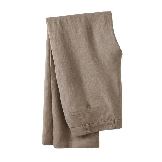 Pantalon en lin Ormezzano Le pantalon d'été idéal par 30 °C à l'ombre. Par Omezzano, Italie.