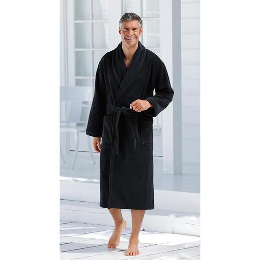 Peignoir de bain lavable à 95 ºC de Carl Ross Plus stylé. Plus absorbant. Et bien plus hygiénique.