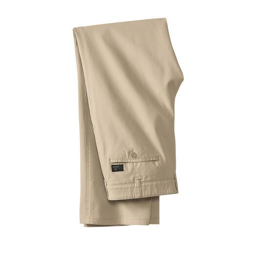 Pantalon en canvas fin Plus élégant et plus frais que le denim mais tout aussi robuste et facile d'entretien.