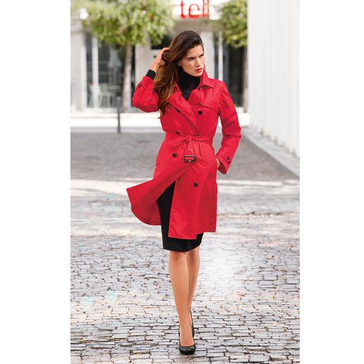 Trench-coat imperméable de Knirps®, Femme Déperlant et respirant. Transportable et ultra léger. Lavable et au séchage rapide.
