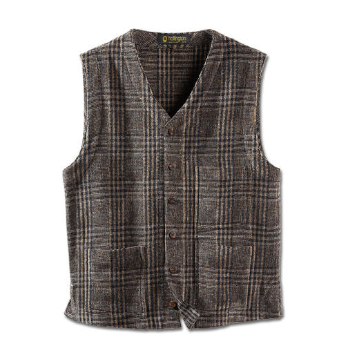 Gilet chenille Hollington Un design indestructible.