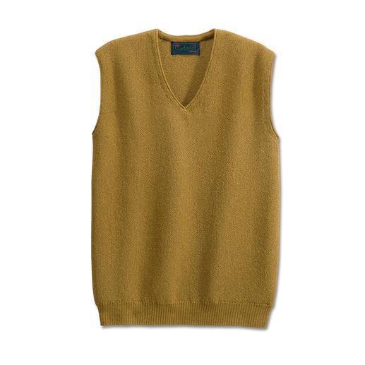Débardeur alpaga Un superbe gilet en tricot d'art, de Clonakilty.