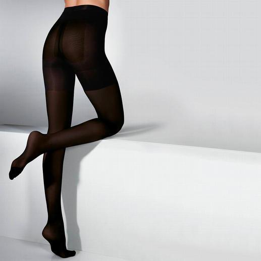 Collant silhouette d'ELBEO, 20 deniers ou 60 deniers Pour un ventre, des jambes et des fesses en pleine forme.