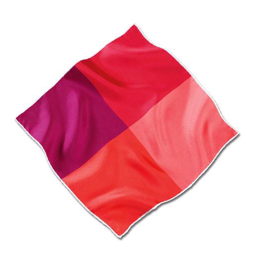 Pochette en twill de soie d'Ascot La pochette roulotée à la main en twill de soie fin: douce et de bonne tenue, aux couleurs brillantes.
