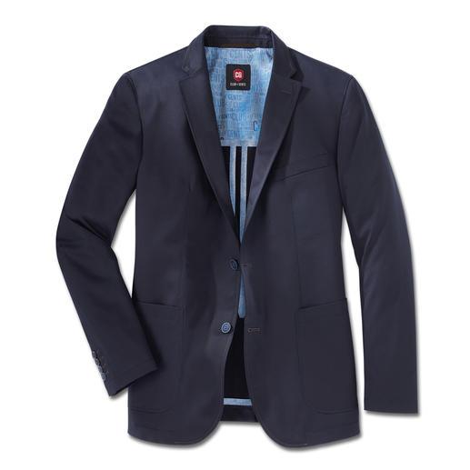 Veste en coton Pima Carl Gross Un éclat chic et raffiné, une couleur brillante et un toucher délicat. Peu froissable.