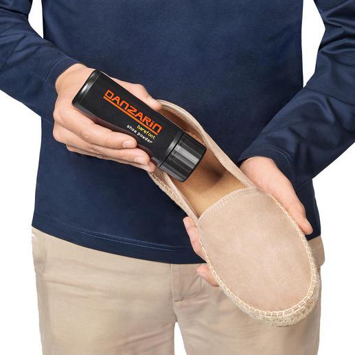 Poudre pour chaussure Danzarin, 75 g Pour des pieds secs, frais et intacts.