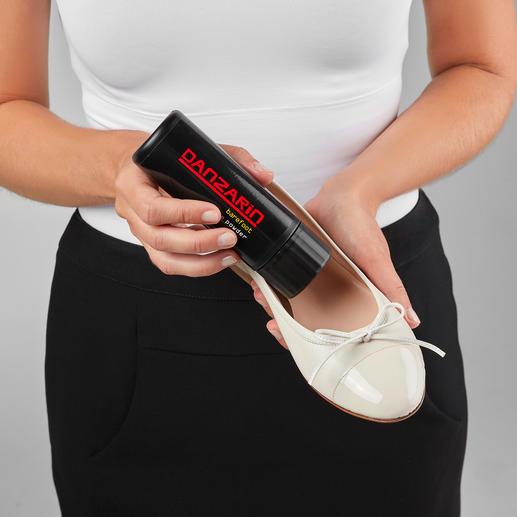 Poudre pour chaussure Danzarin Pour des pieds secs, frais et intacts.