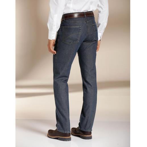 Jean thermo à cinq poches Le jean d'hiver – tenant bien chaud en douceur. Tout en étant incomparablement léger.